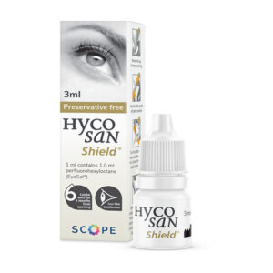Hycosan Shield unique and innovative eye drop