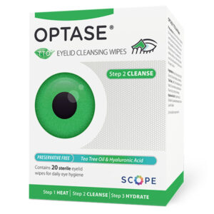 Optase TTO Eyelid Cleansing Wipes